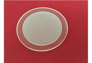 Einlegeplatte Glas 95mm:    Durchmesser 95mm